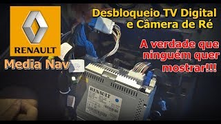 Desbloqueio Media Nav 2018 - TV Digital e Câmera de Ré Media Nav 2018 - Como desbloquear Media Nav