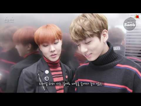 [BANGTAN BOMB] J-hope&JungKook Show Music Core Special MC - BTS (방탄소년단)