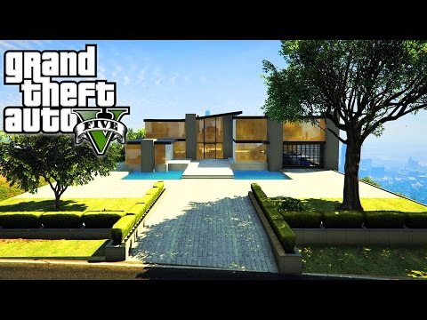 BILLIONAIRE MANSIONS TOUR IN GTA 5!!! (GTA 5 Mods)