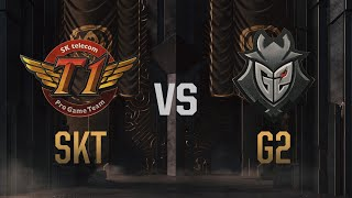 SKT vs G2 | Mid-Season Invitational 2019 | gra 5 | półfinał