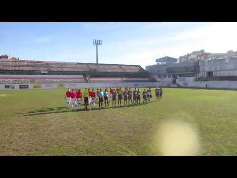 ESTRELA DA AMADORA-UNIDOS, esta manhã no mitico Estádio n Reboleira