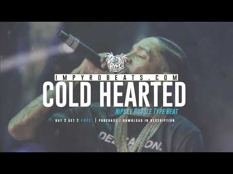 """[FREE] NIPSEY HUSSLE TYPE BEAT 2019 – """"Cold Hearted (Prod.By @pyrobeats)"""
