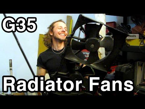 Radiator Fan Replacement [Infiniti G35/Nissan 350Z]