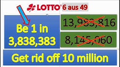 German Lottery 6/49 latest results analysis for number selection
