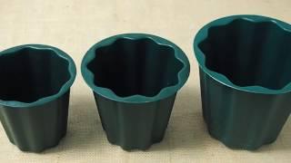 Plastic Ground Planter Plants Bowl Pot Flower Floral Funeral Cemetary Grave Plot Under Garden