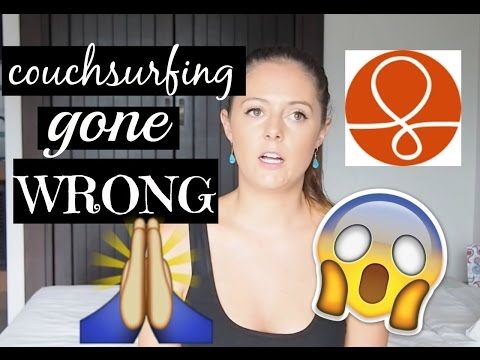 WORST COUCHSURFING EXPERIENCE || STORYTIME