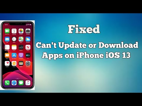 IOS 13: How To Fix Can't Update Or Download Apps From App Store On IPhone And IPad?