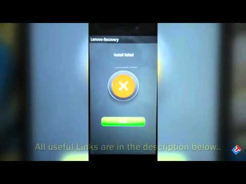Fix Update Failure Issue on Lenovo K3 Note [Must Watch