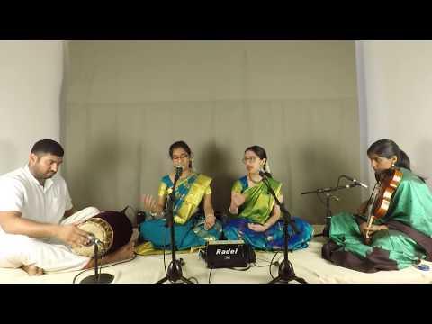Raga Room: Concert 7 - Marthungi & Sarmpavi Vocal