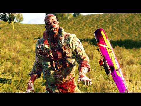 THIS ZOMBIE IS TRYING TO EAT ME! (Dying Light Gameplay The Following DLC)