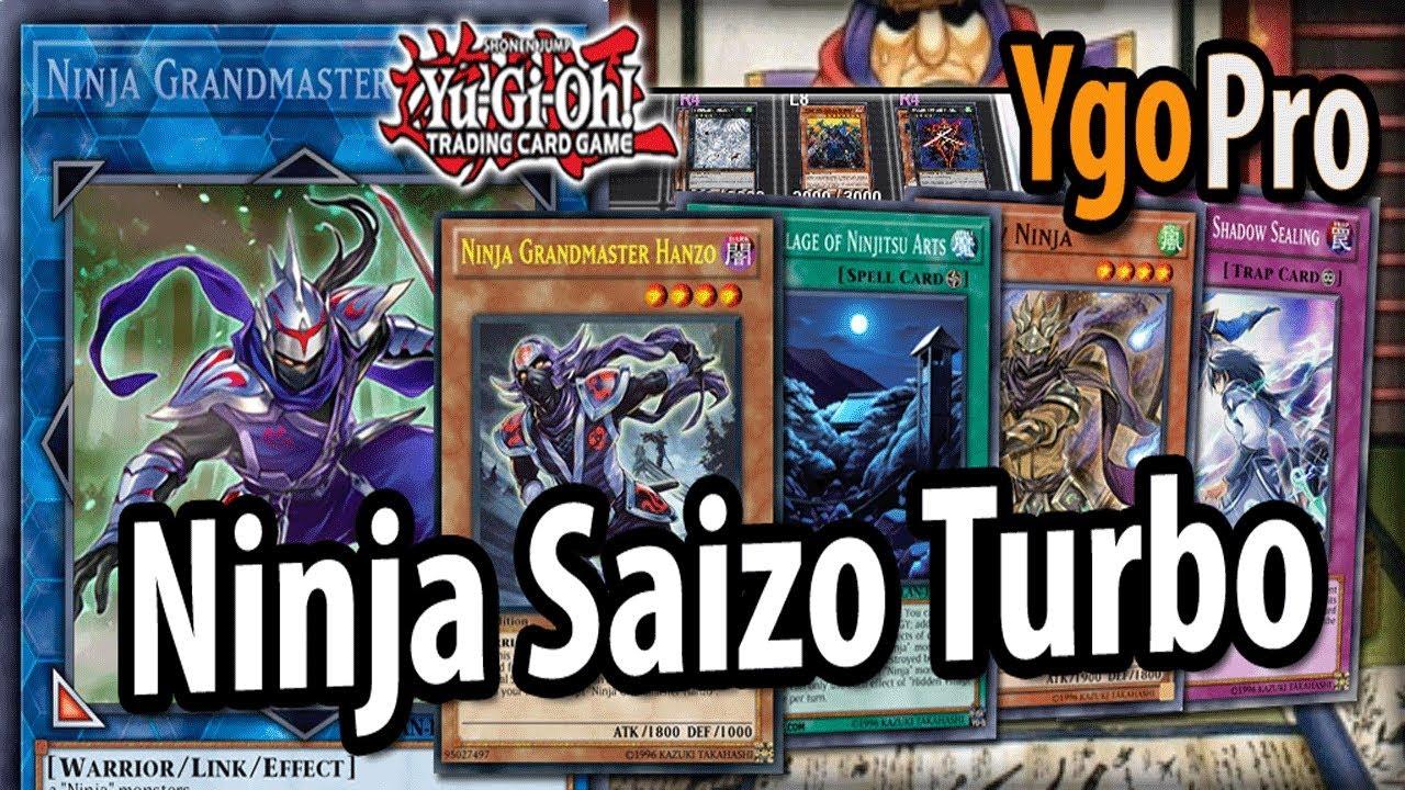 ninja saizo turbo ygopro new ninja deck 2018 shadow lock 3