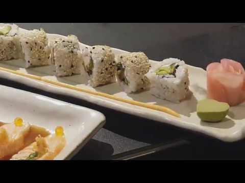 Vegetarian Cream Cheese, Avocado Sushi by Chef Michelle at Ruka