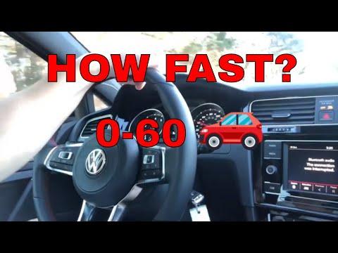 Mk7.5 GTI Stock 0-60 Times! 2018 Volkswagen GTI