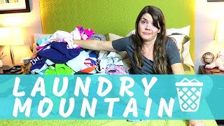 LAUNDRY CLEANING MOTIVATION | SPEED CLEANING ROUTINE