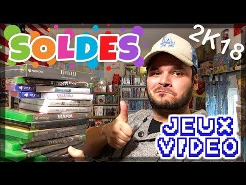JEUX VIDÉO - Soldes Hiver 2018 !