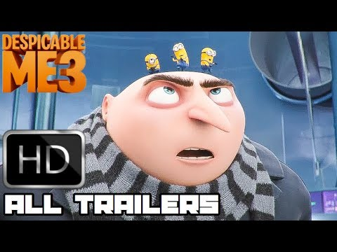 Despicable Me 3 All New Clips & Trailers (2017) Animated Mov
