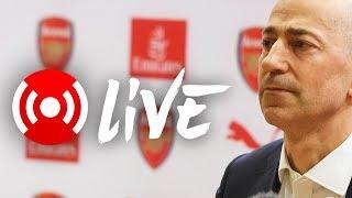 Live: ivan gazidis on arsene wenger announcement