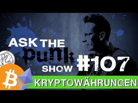 Kryptowährungen | Bitcoin Kurs | Demokratie und die Blockchain Technologie #ASKTHEPUNK 107
