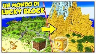 LA SFIDA DI SOPRAVVIVENZA NEL MONDO DI LUCKY BLOCK! - Minecraft ITA