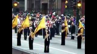 Elgin High Marching Band - Chicago Thanksgiving Day Parade 2011