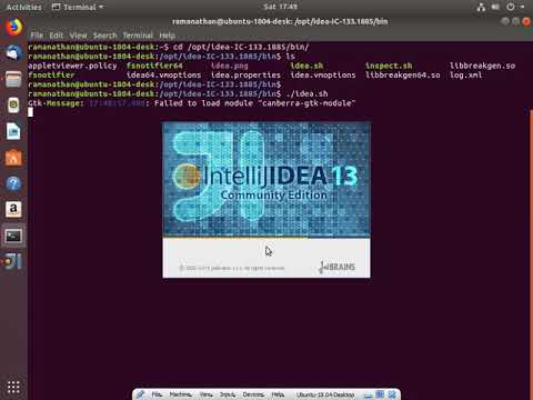 install intellij on ubuntu 18.04