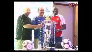Barclays Cup: Trophy on display in Uganda