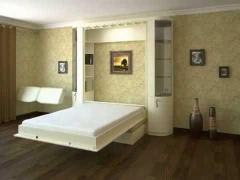 Откидная шкаф кровать с диваном