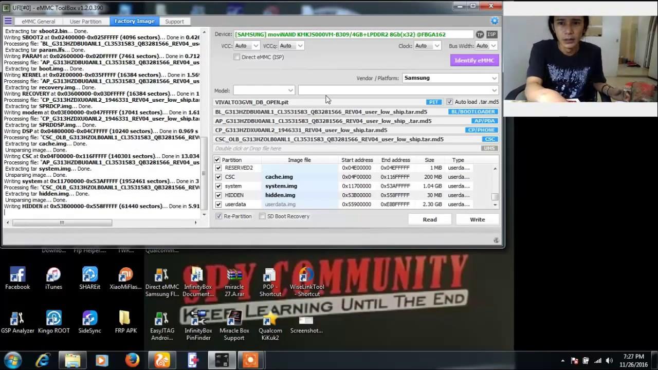 Data Emmc SM G313hz Not need File Dump By Firman JengGonJreng