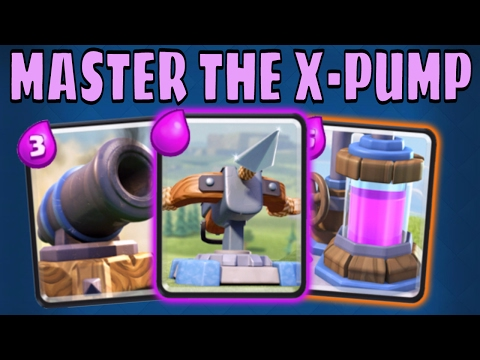 XBOW + PUMP DECK :: PRO TIPS LIVE :: SURGICAL GOBLIN :: Clash Royale
