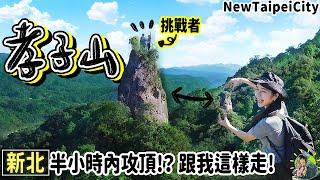 超簡單直達上帝傑作: 孝子山!世界少有天堂階梯與峭壁巨石台灣都有!挑戰鳶嘴山、劍龍稜前先來這 | 新北景點