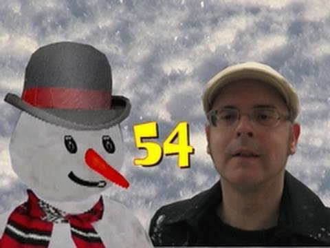 Learn English words for snow - A snowy day - English lesson with Misterduncan in England