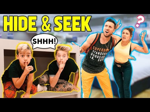 HIDE And SEEK! KIDS Vs ADULTS Challenge!! **Win $10,000** | The Royalty Family