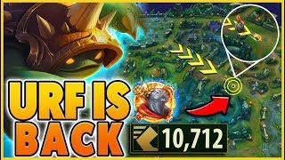 *10,000+ MOVESPEED* I LOVE RIOT (URF IS BACK) - BunnyFuFuu | League Of Legends