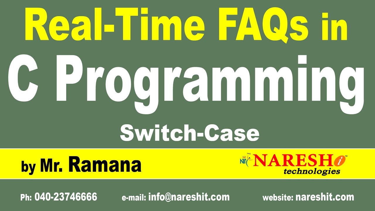 switch case c programming interview questions answers switch case c programming interview questions answers