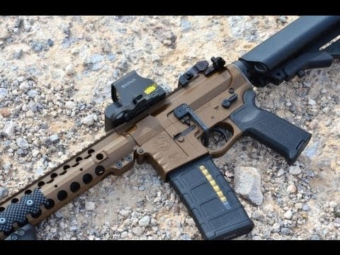 Custom CMT Texas Bronze Build AR15