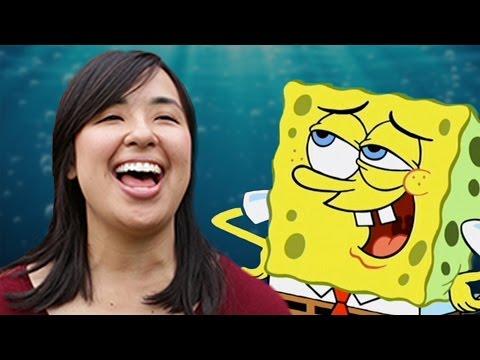People Try to Laugh Like SpongeBob SquarePants