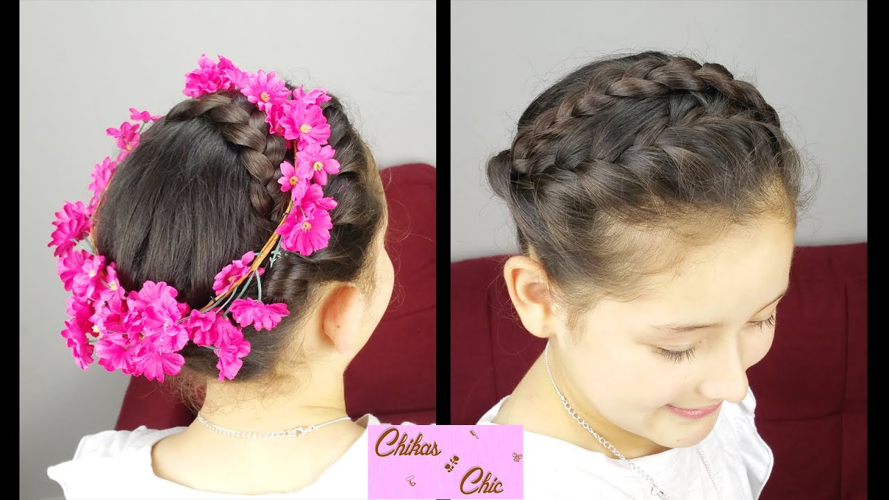 Boho braided crown braided hairstyles flower crown boho chic boho braided crown braided hairstyles flower crown boho chic youtube izmirmasajfo