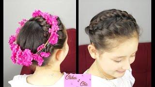 Boho Braided Crown | Braided Hairstyles | Flower Crown | Boho Chic