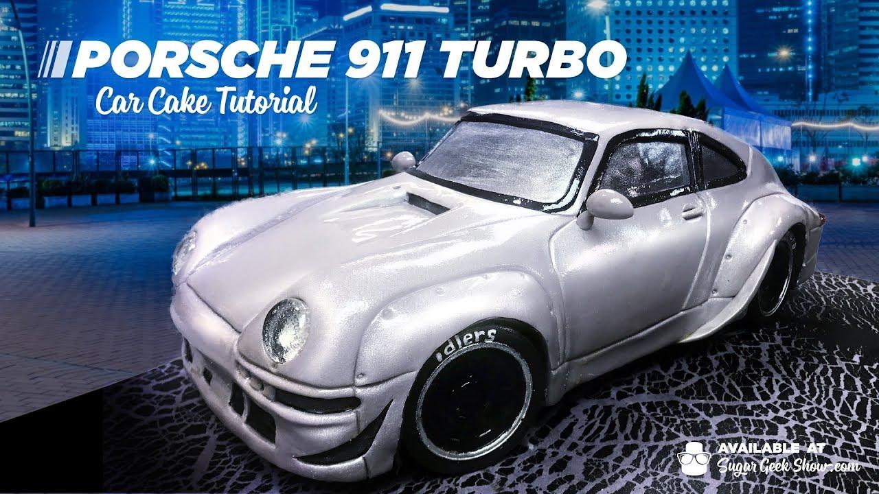Porche 911 turbo car cake tutorial promo youtube porche 911 turbo car cake tutorial promo baditri Gallery