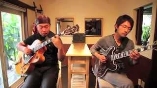 """Guitar Duo Acousphere Plays """"Wave"""" with Motown Rhythm Arrangement"""