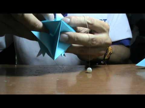 HD Làm chuông gió bằng giấy K1