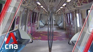 Trains, buses decked out in Hari Raya-themed designs