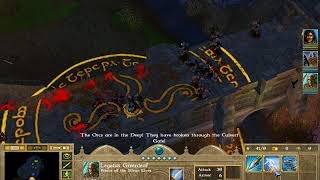 PC Longplay [851] The Lord of the Rings War of the Ring (Good Campaign) part 2 of 2