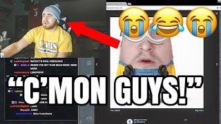 LosPollosTv Hilariously Letting Trolls Get To Him 😂