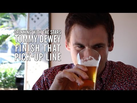 'Casual' Star Tommy Dewey Plays 'Finish That Pick Up Line'