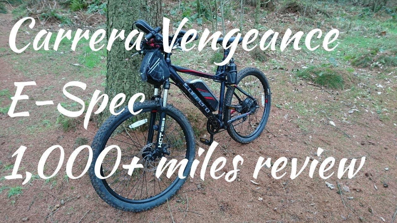 Carrera Vengeance E Spec Electric Bike 1 000 Miles Review