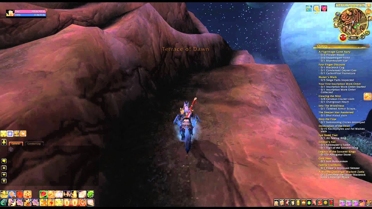 Where is terrace of dawn wod explore spires of arak youtube for Where is terrace