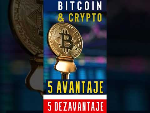 avantaje și dezavantaje ale bitcoinului)
