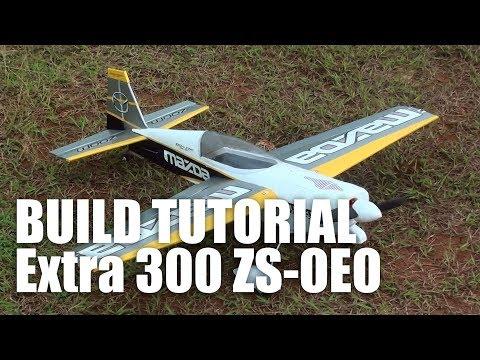 Extra 300 RC Plane 900 mm