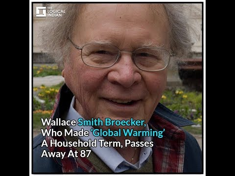 when was global warming coined